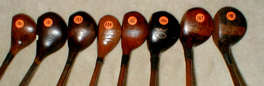 Gifts for the Golfer! Golf Gifts. Wooden Shaft Golf Clubs and Collectibles, Antique Golf Balls and golf collectables.