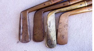 Putters - Wooden Shafted Golf Clubs & Collectibles Auction