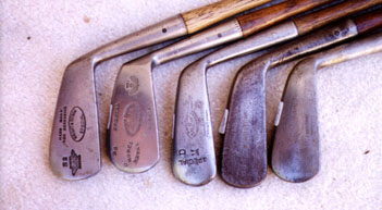 Wood Shaft Golf Clubs & Golf Collectables