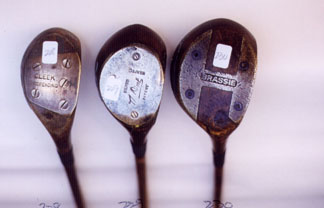 Woods - Wooden Shafted Golf Clubs & Collectibles Auction