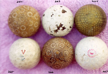 Collectable Golf Balls - Wooden Shafted Golf Clubs & Collectibles Auction