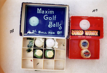 Golf Balls - Wooden Shafted Golf Clubs & Collectibles Auction