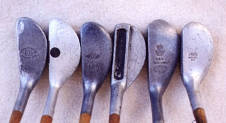 Aluminum putters - Wooden Shafted Golf Clubs & Collectables Auction