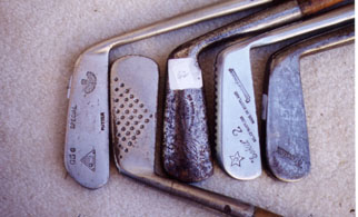 Wooden Shafted Golf Clubs & Collectables Auction