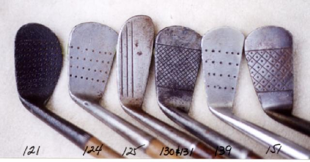 Wooden Shafted Golf Clubs, wood shaft putters, hickory shaft niblicks, long nose woods and rut irons. Golf Balls and Collectibles. Scottish Golf Clubs