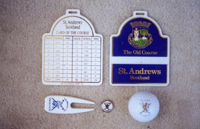 St. Andrews Golf Gifts and collectibles