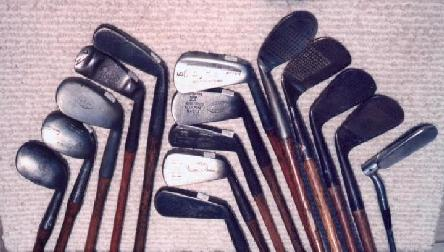 Sets of Wooden Shaft Golf Clubs