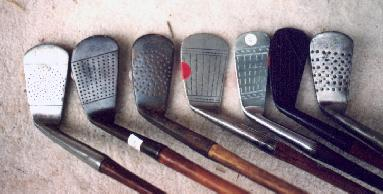 Wooden Shafted Golf Clubs & Collectables