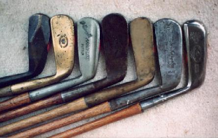 Golf Putters - Wooden Shaft