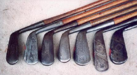 Wooden Shafted Irons Made in Great Britain